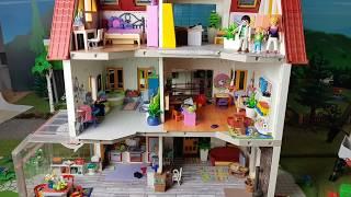 💛Luxusvilla Frühling//Kinderzimmer einrichten//Pimp my Playmobil// Familie Sonnenschein