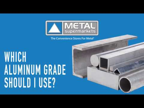 What Aluminum Grade Should I Use? | Metal Supermarkets