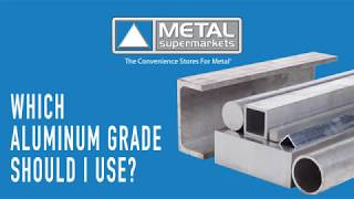 Which Aluminum Grade Should I Use | Metal Supermarkets