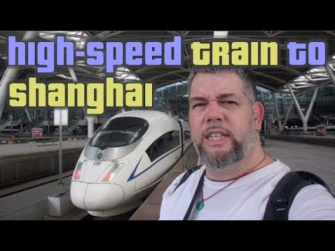 High-Speed Train to Shanghai