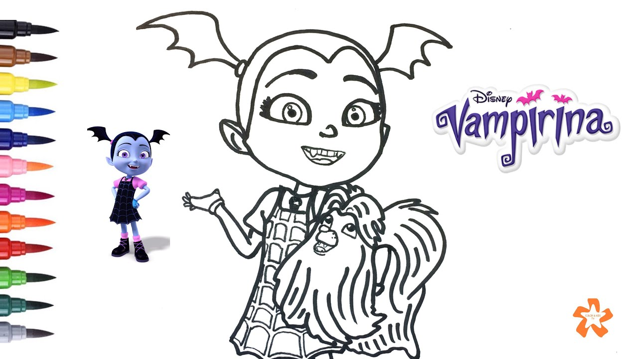 Best Disegni Di Vampirina Da Colorare Arenda Stroy