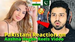 Pakistani React on Aashna Hegde Latest Instagram Reels videos 2021 | Damnfam | Reaction Vlogger
