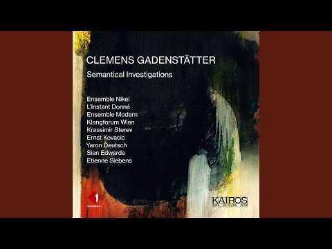 Semantical Investigations I