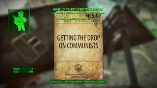 Fallout 4 National Guard training yard magazines