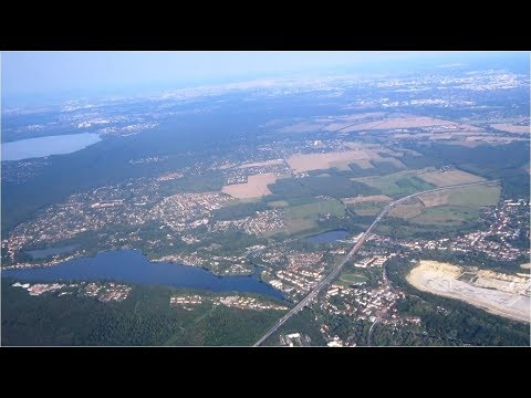Landeanflug Auf Den Flughafen Berlin-Schönefeld (SXF)