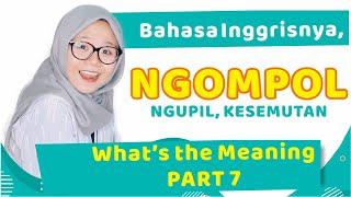 Bahasa inggris nya kesemutan Apa coba ? - episode 3 Part 2 Sidak bahasa.