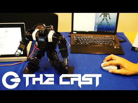 人型ロボットを簡単に操作できるソフトウェア「V-Sido OS」
