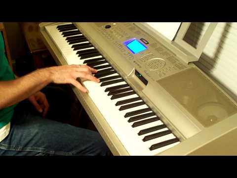 """How To Play """"Sleigh Ride"""" by Relient K on piano WITH CHORDS [part 1]"""