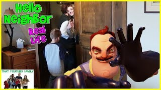 HELLO NEIGHBOR Real Life In A Cabin / That YouTub3 Family