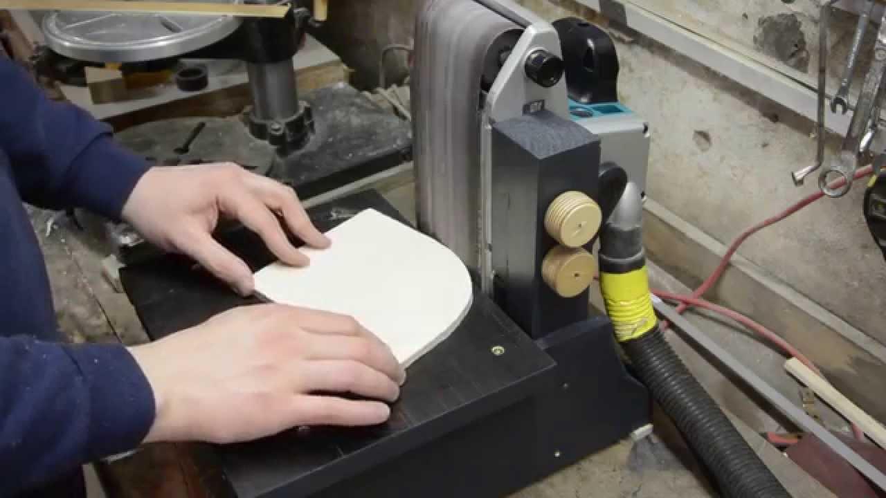 bandschleif-vorrichtung bauen | kantenschleifer | schleifmaschine