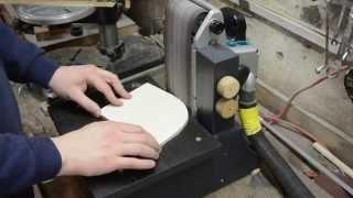 Bandschleif-Vorrichtung bauen | Kantenschleifer | Schleifmaschine bauen | DIY