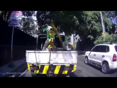 MMDA Tow Truck Operation (Illegal) Part 1