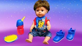Déballage du petit frère de baby born Annabelle. Vidéo en français pour les enfants