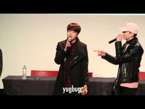 151208 GOT7 at Incheon Fansign - 고백송 (Confession Song).