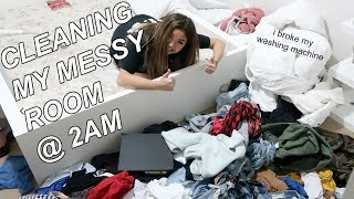 CLEANING MY ROOM AT 2AM (took 3 days) 2018 | maiphammy