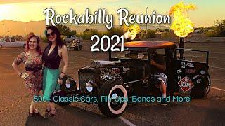 Rockabilly Reunion 2021 Classic Cars Rockabilly Weekend Pin-Ups, Ink, Rat Rods, Hot Rods Lake Havasu