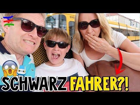 SCHWARZFAHRER in der Bahn in Dresden 😱 !? 😁 TipTapTube Family 👨👩👦👦