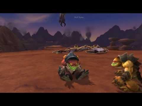 Warlords of Draenor beta - Nulak in Goren form !