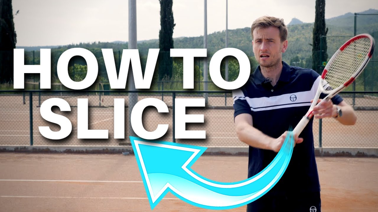 Tennis Backhand Slice Lesson - How To Slice Like Federer in 3 Steps