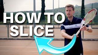 Tennis Backhand Slice Leṡson - How To Slice Like Federer in 3 Steps