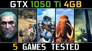 GTX 1050 Ti 4GB (Test in 5 Games) Low / Medium / High / Ultra