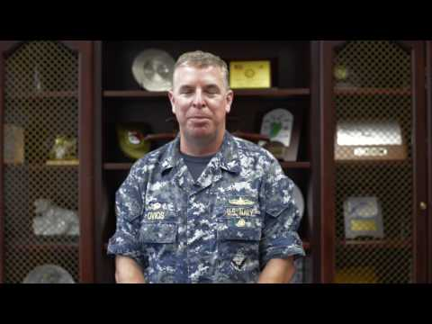 Captian Ovios on USS Fitzgerald Relief
