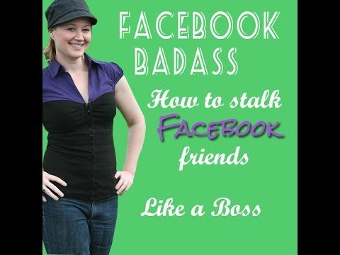 Do guys stalk their exes on facebook