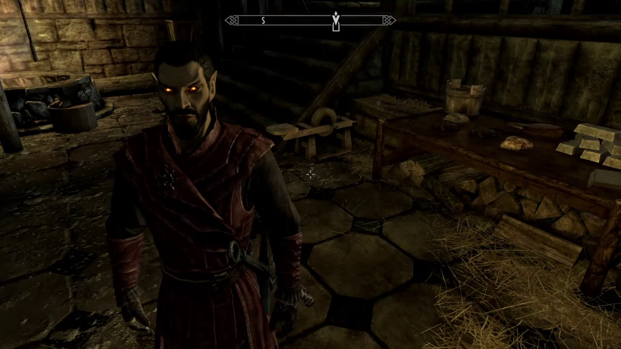 Skyrim Special Edition Texture Issue Vampire Armour And Hoods Youtube