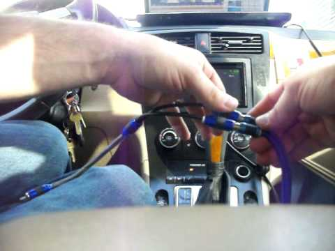 how to install an eq in your car how to install an eq in your car