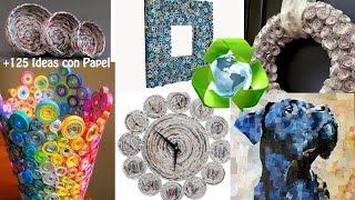 Reciclaje de Papel +125 Ideas / Paper Recycling +125 Ideas