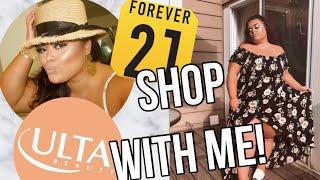 F21 & ULTA SHOP W. ME & HAUL! (PLUS SIZE) {GABRIELLA GLAMOUR}