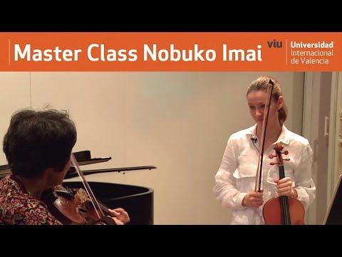VIU Nobuko Imai [Master Class Viola] Máster en Interpretación e Investigación Musical
