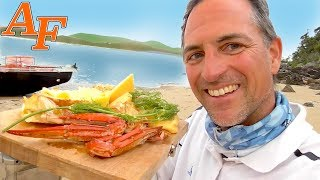 Smoked Crab in Butter Catch and Cook w Sight Cast Barramundi EP.420