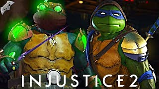 Injustice 2 Online - 500 DAMAGE NINJA TURTLES COMBO!