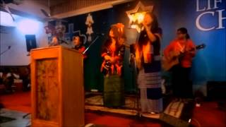"""English Christmas Song """"Silent Night"""" And """"Noel Noel"""" In Tangkhul Language At ABC Sujanpura [HD]"""