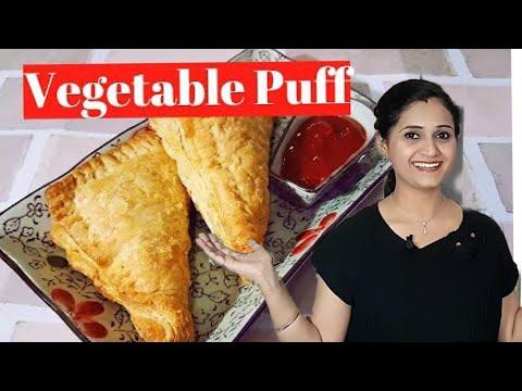 Vegetable Puff | vegetable patty | Crispy snack recipe by Priyanka Rattawa