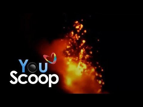 YouScoop: Lava from Mayon Volcano