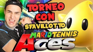 TORNEO COMPETITIVO con SFAVILLOTTO! - Gameplay  Mario Tennis Aces ITA Nintendo Switch
