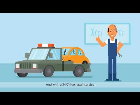 BBK Car Insurance 2D Animation
