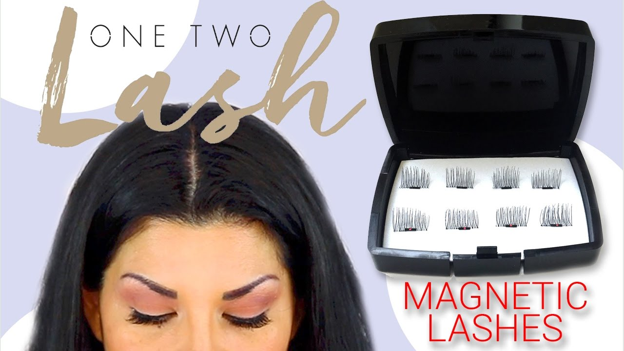 One Two Lash Magnetic Eyelash Extensions Try On First Impression