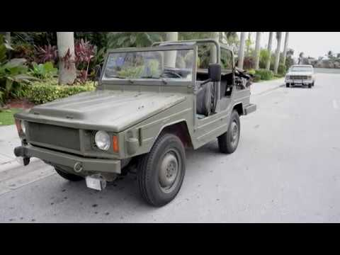 1983 vw Iltis type 183 4x4 FOR SALE