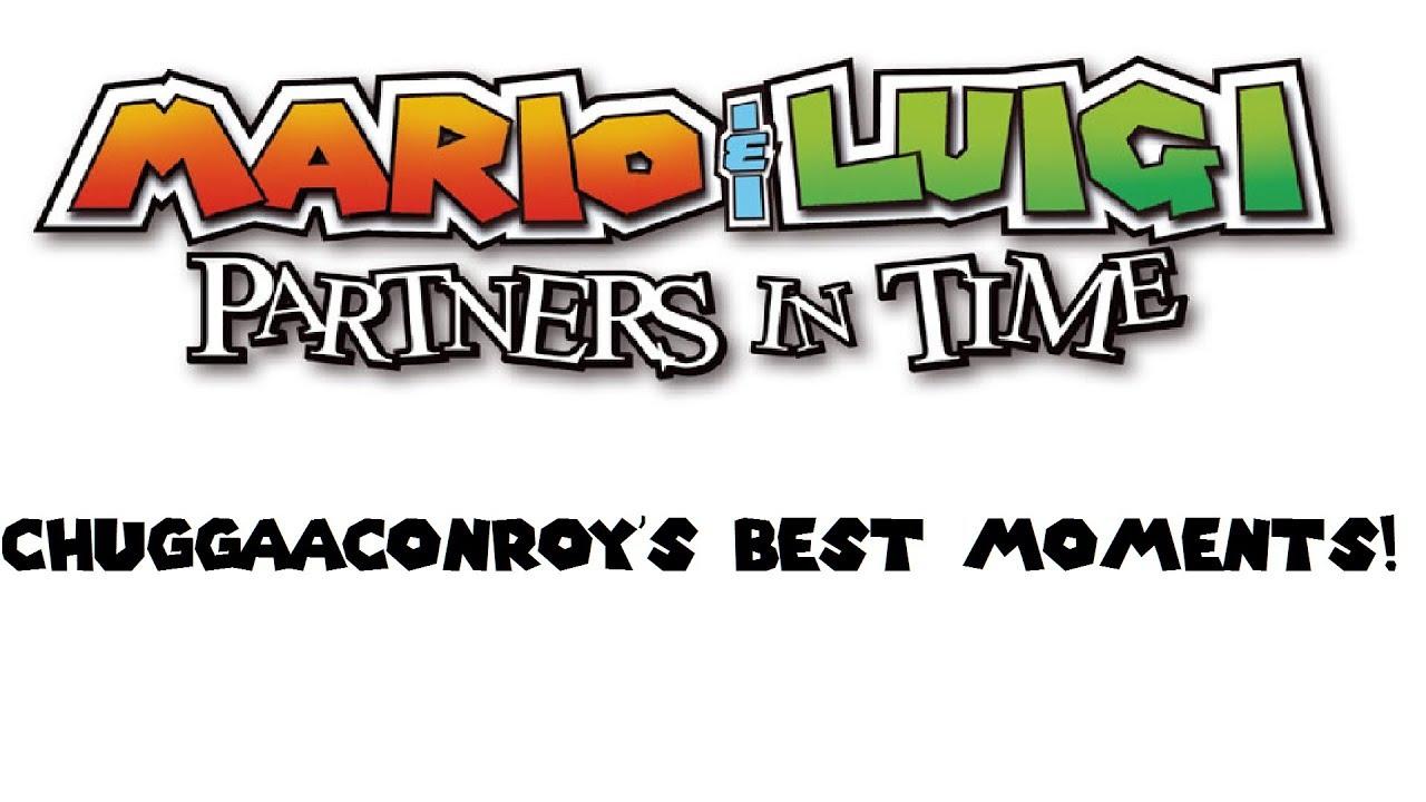 Mario Luigi Partners In Time Chuggaaconroy S Best Moments