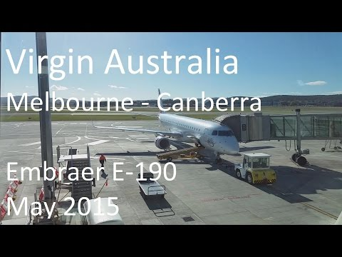 Virgin Australia, Melbourne to Canberra