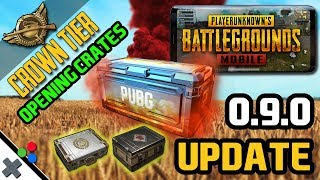 PUBG Mobile Crate Opening and CREW CHALLENGE