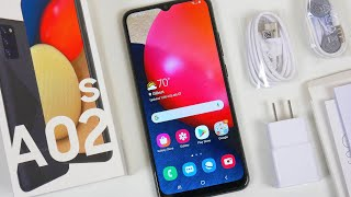 Samsung Galaxy A02s Unboxing, Hands On & First Impressions!