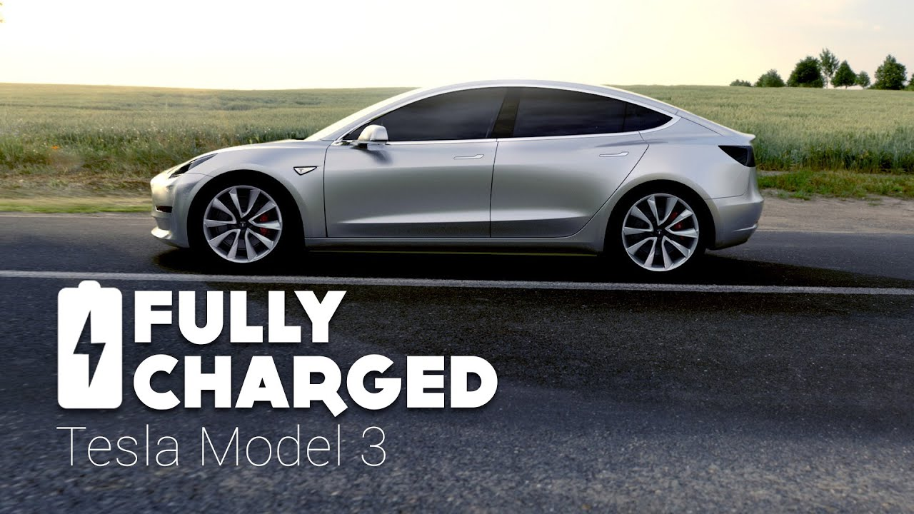 How Long Does A Tesla Take To Charge >> Tesla Model 3 Fully Charged