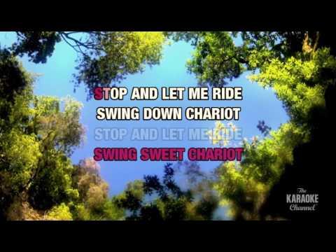 Swing Down Sweet Chariot in the style of Elvis Presley | Karaoke with Lyrics