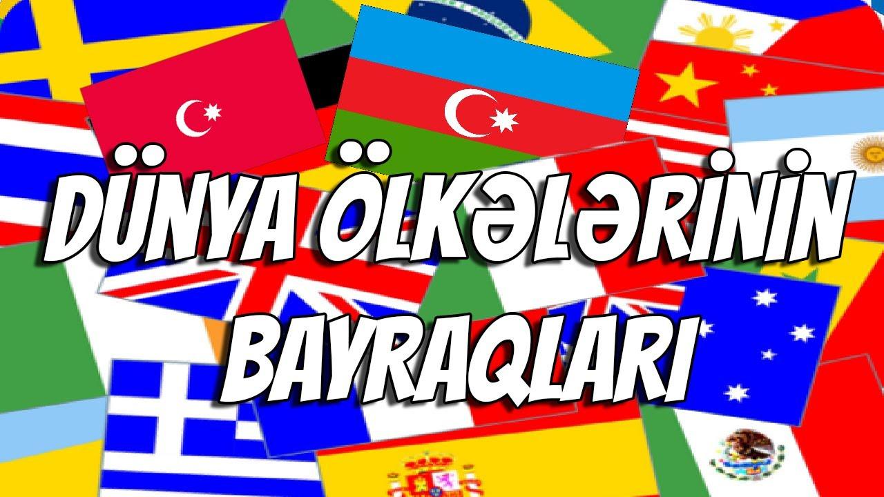 Download DÜNYA ÖLKƏLƏRİNİN BAYRAQLARI