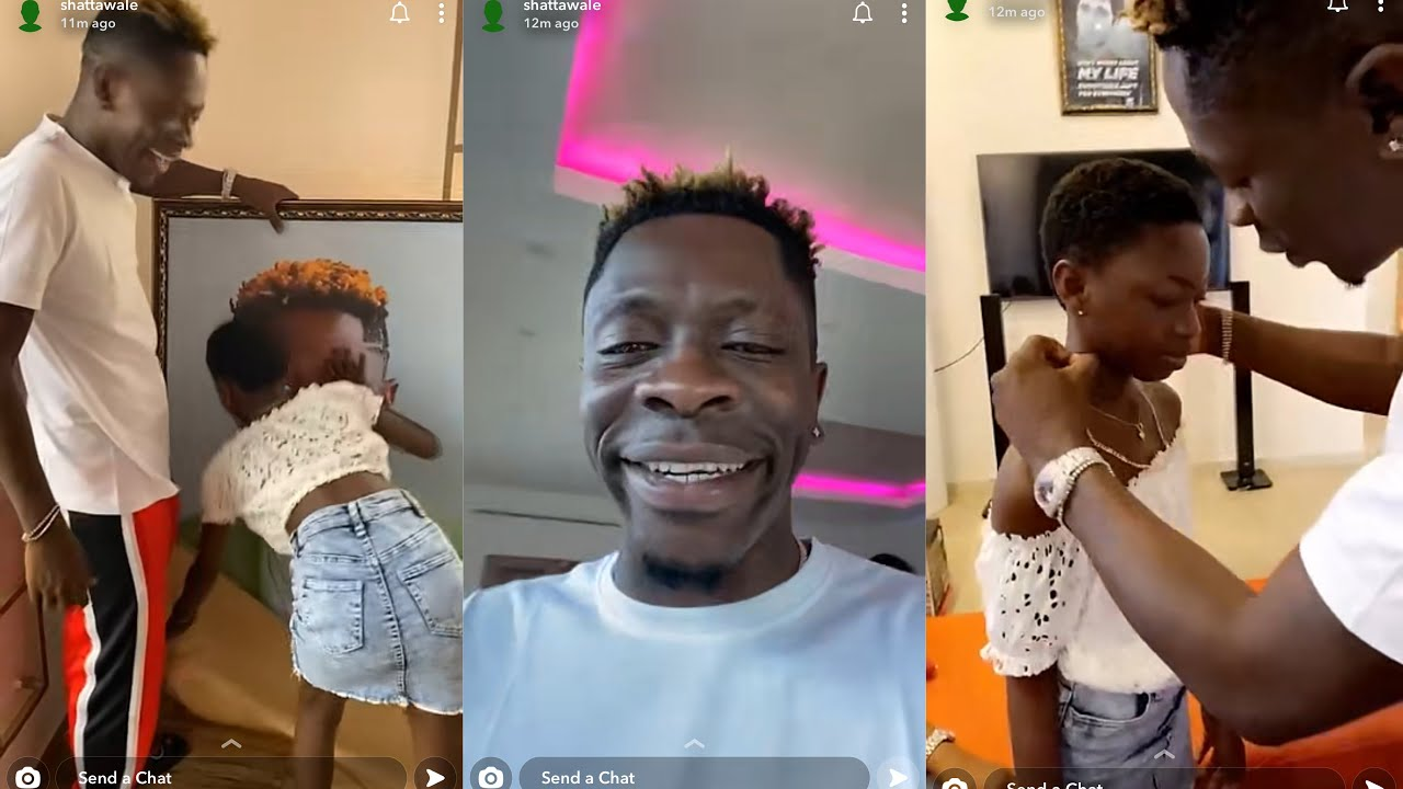Wow 😍 Shatta Wale's daughter spoils his father with the best birthday gift ever 😍🥰❤️
