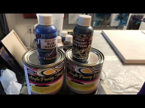 Testing new resin!!! Counter Culture DIY Resin and Paints!!! Also Starting A Resin GEODE!!!
